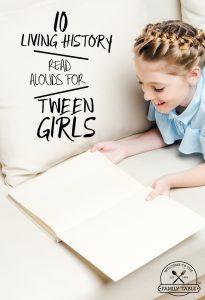 10 Living History Books for Tween Girls