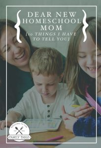 Are you a new homeschooling mom who is looking to find her footing? Here are 10 things I need you to know.