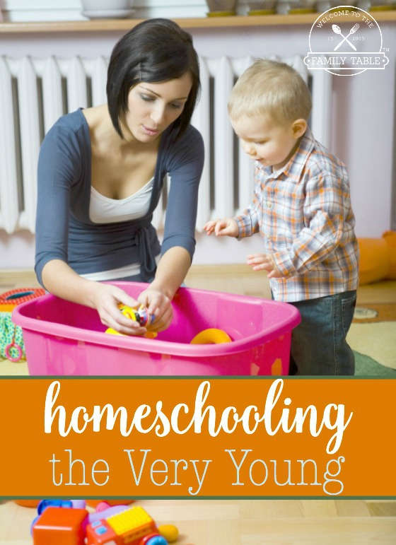 Here are some great tips for homeschooling your littles.