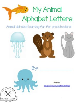 This free animal alphabet pack is perfect for your young animal loving kids.
