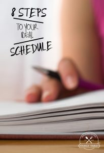 Are you looking to create the ideal schedule that fits your life? If so, come see these 8 steps to your ideal schedule.