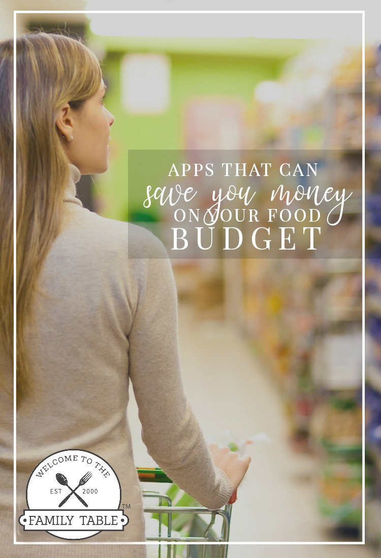 Looking for some apps that can save you money on your food budget? Come check out this list and you'll see savings on your food budget in no time!