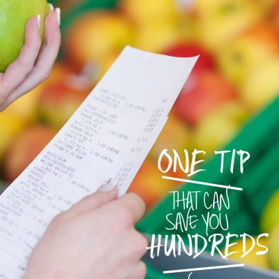 This ONE tip can save you HUNDREDS on your grocery bill each year!