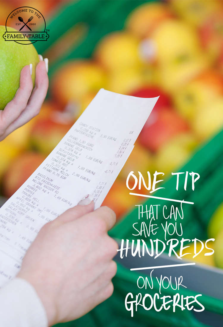 One Tip That Can Save You HUNDREDS on Your Groceries (+More)