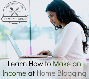 make an income at home