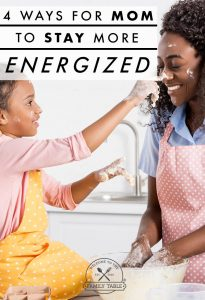I cannot count the days that I've been exhausted, but had to make sure the children were taken care of. Here 4 Ways For Mom to Stay More Energized!!