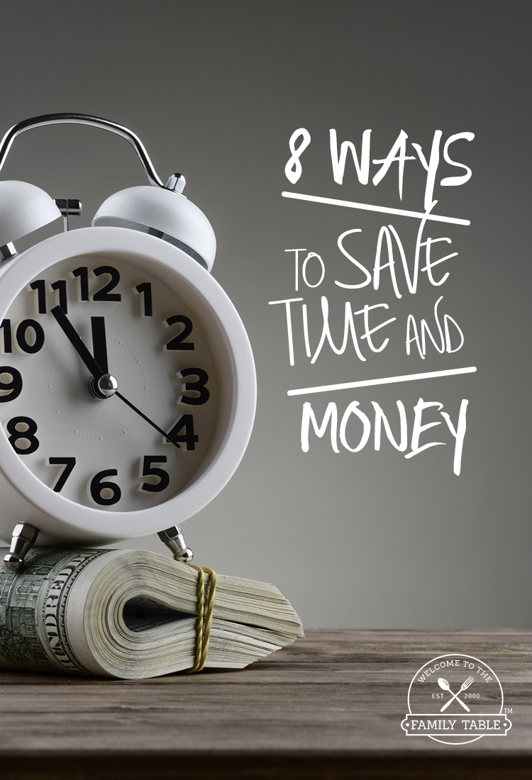 8 Ways to Save Time And Money