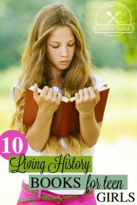 Looking for some great reads for your teen girl? Try thee 10 living history books!
