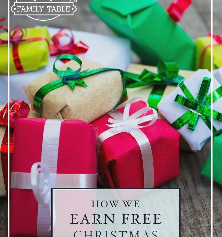 How We Earn Free Christmas Gifts
