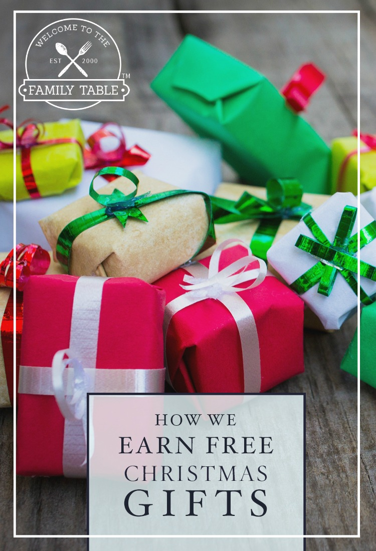 Looking for ways to earn free Christmas gifts? Here are some strategies we've been using for nearly 20 years!
