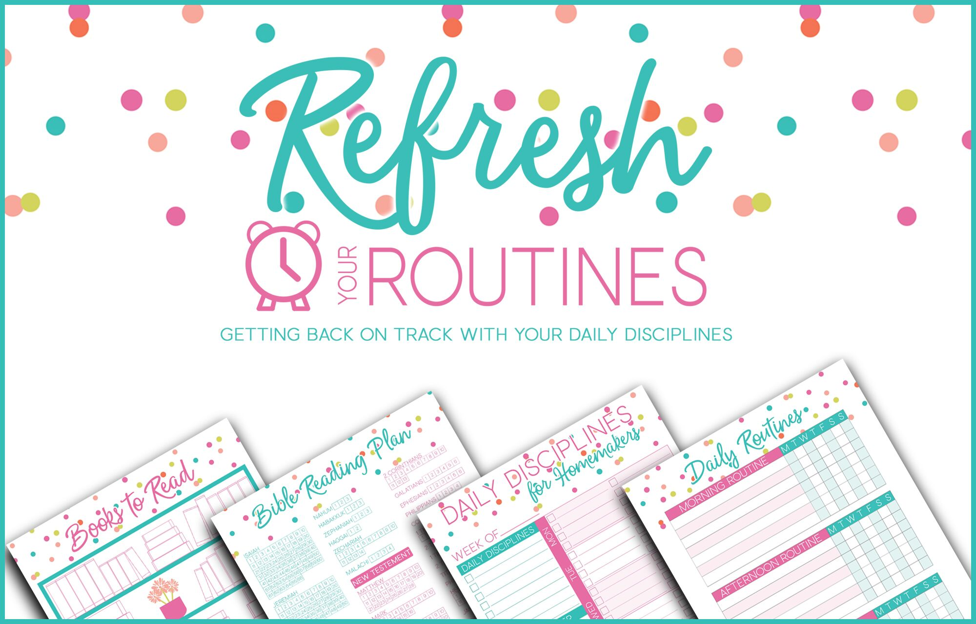28 Free Printable Planning Resources For Busy Moms ...