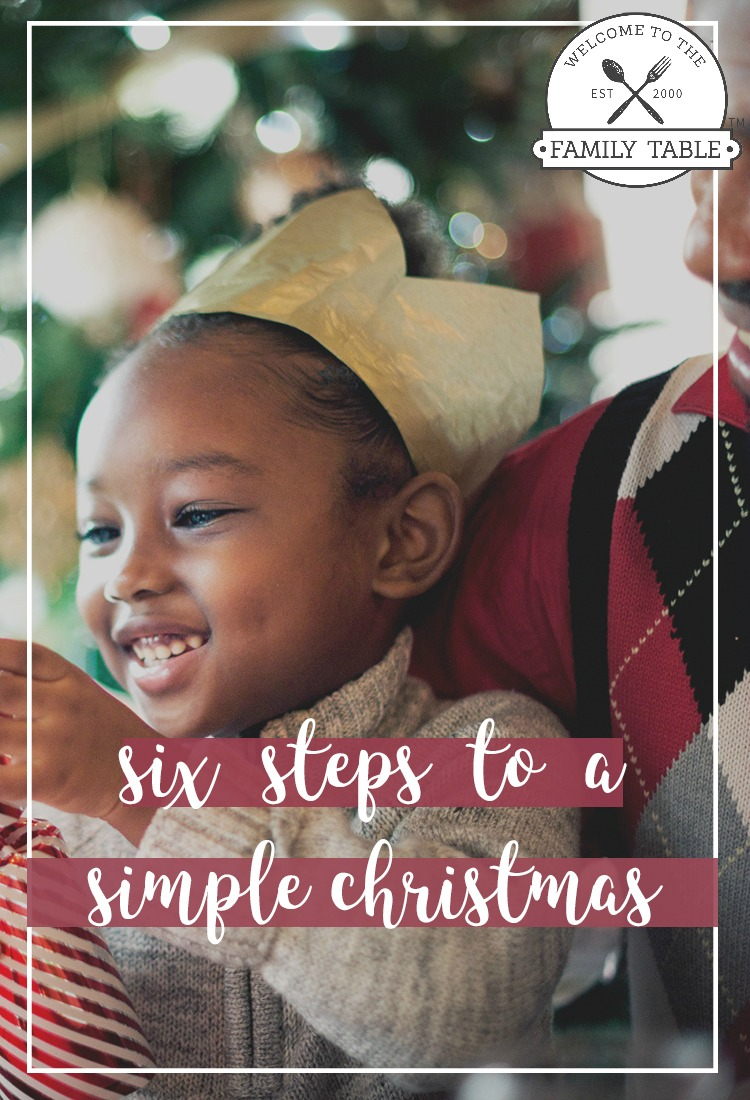 Are you looking to simply your Christmas? Come see these six steps to a simple Christmas.