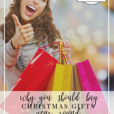 Why You Should Buy Christmas Gifts Year Round