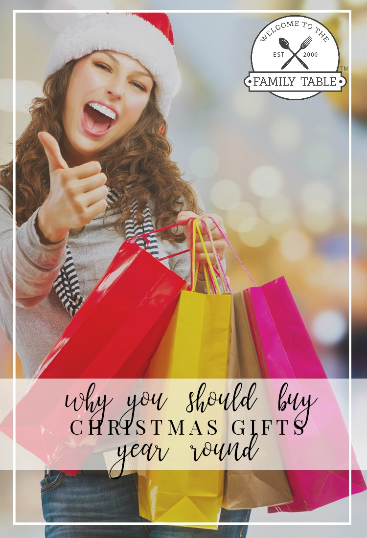 Why You Should Buy Christmas Gifts Year-Round