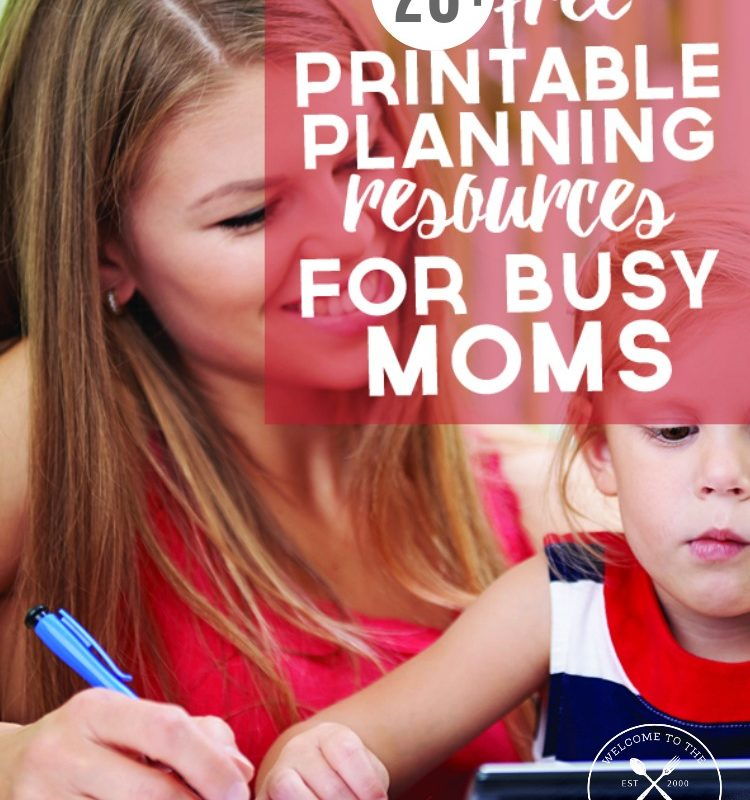 28 Free Printable Planning Resources For Busy Moms