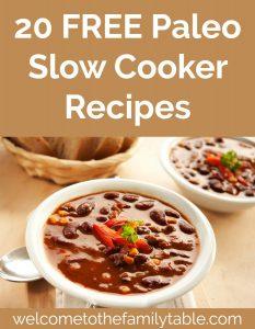20 Free Paleo Crockpot Recipes