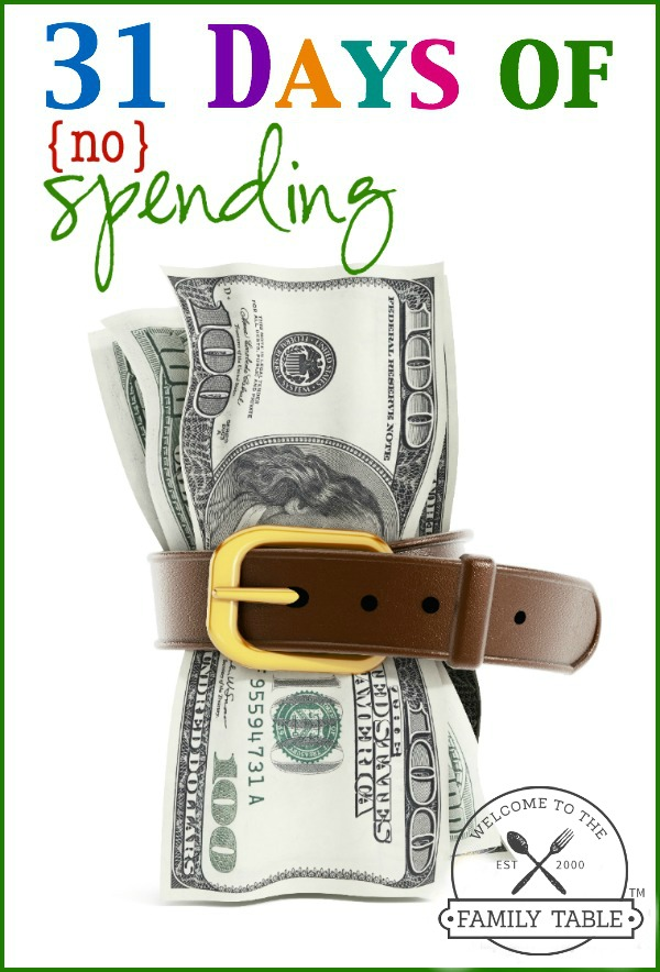 Are you looking to trim your budget? Come see how we save money each year by having 31 days of no spending.