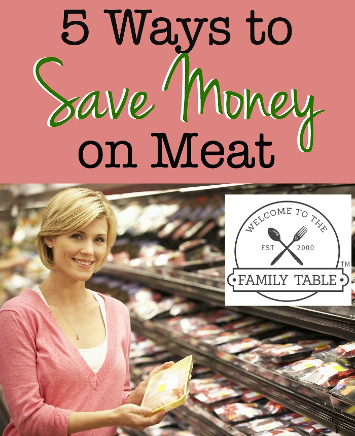 save money on meat