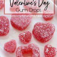 Easy Homemade Valentine Heart Gum Drops