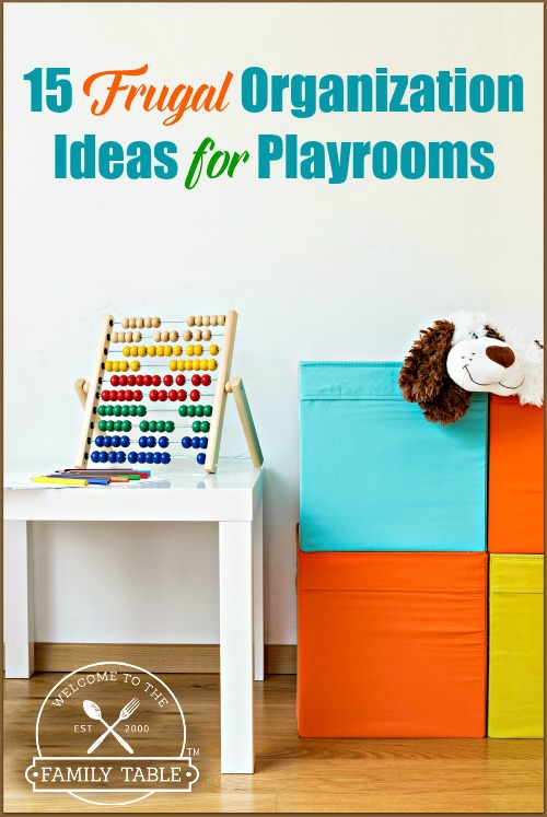 15 Frugal Organization Ideas for Playrooms