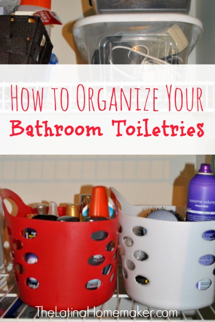 organization ideas for small bathrooms
