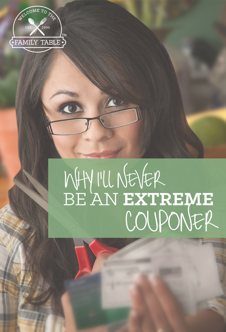 Why I'll Never Be An Extreme Couponer