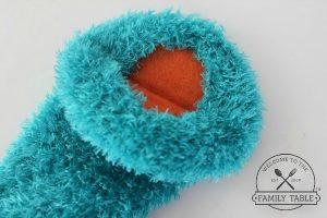 DIY Monster Sock Puppet Tutorial