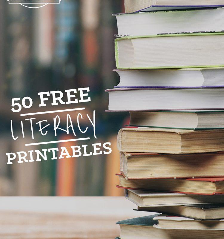 50 Free Literacy Printables