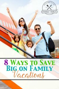Looking to save money on your next family vacation? If so, come see these 8 ways!