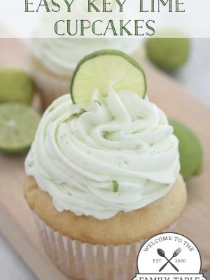 These key lime cupcakes are sure to delight any citrus lovin' sweet tooth palette. :: welcometothefamilytable.com
