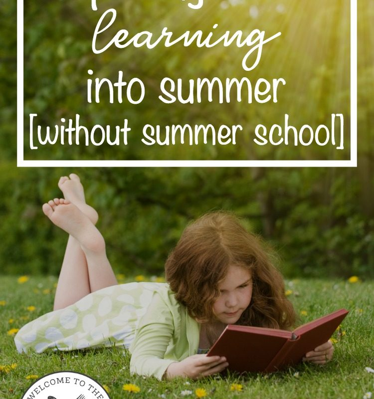 7 Frugal Ways to Build Learning into Summer (without Summer School)
