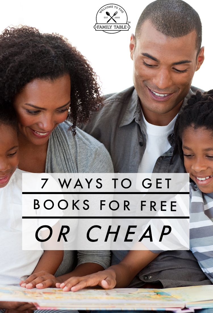 7 Ways to Get Books for Free or Cheap