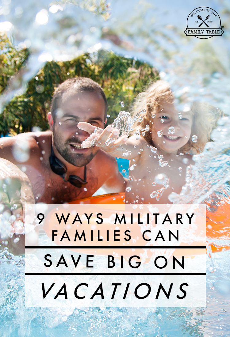 9 Ways Military Families Can Save Big on Vacations