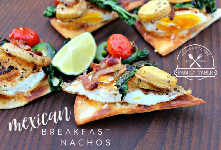 Mexican Breakfast Nachos RECIPE