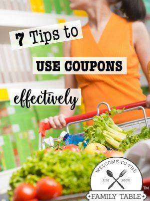 Does couponing confuse you? You are not alone. These 7 tips to use coupons effectively can help!