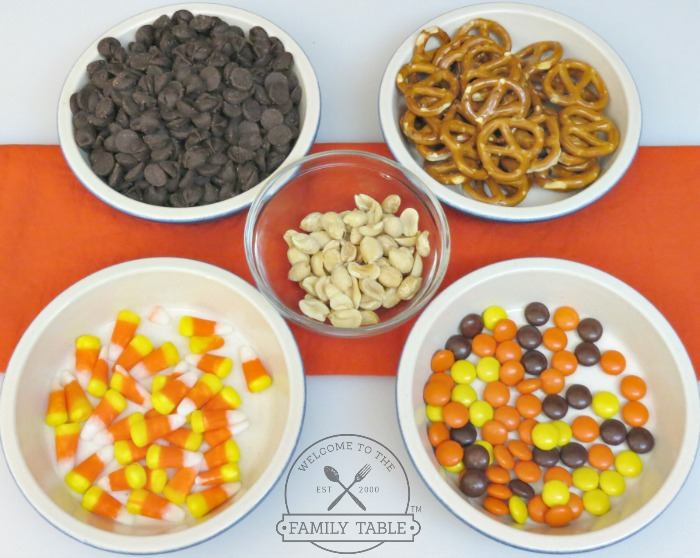 Halloween Bark Ingredients