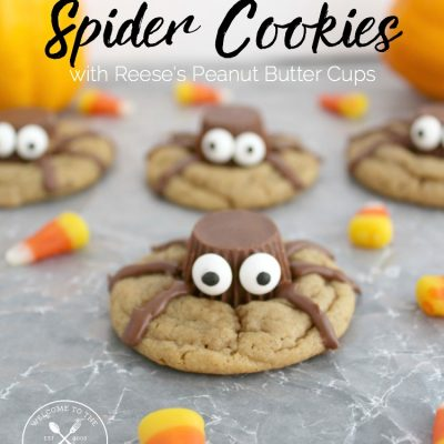 Come check out these fun Halloween Spider Cookies! These are not only tasty but fun for the entire family to make!