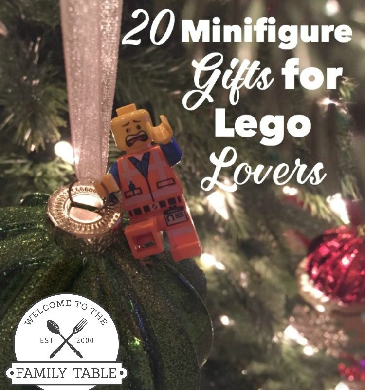 Looking for some creative gifts for your lego lover? If so, check out these 20 minifigure gifts for lego lovers!
