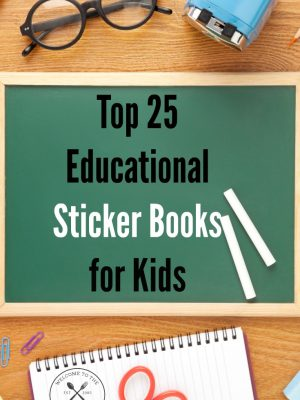 Top 25 Educational Sticker Books for Kids