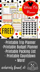 Are you heading to Disney soon? Come grab our FREE Disney vacation planner to help your trip run smoothly!