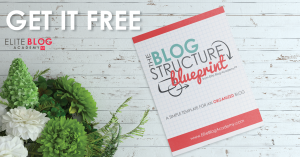 Free Blog Structure Blueprint