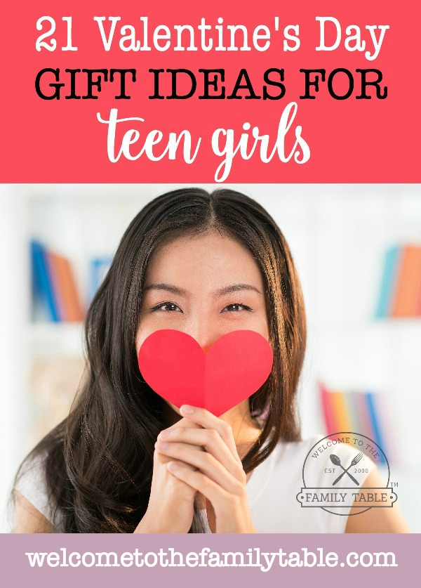Looking for some great Valentine's Day gifts for teen girls? If so, come see these 21 hand-picked by our teen daughter!