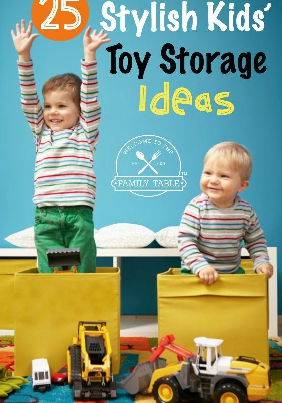25 Stylish Kids' Toy Storage Ideas
