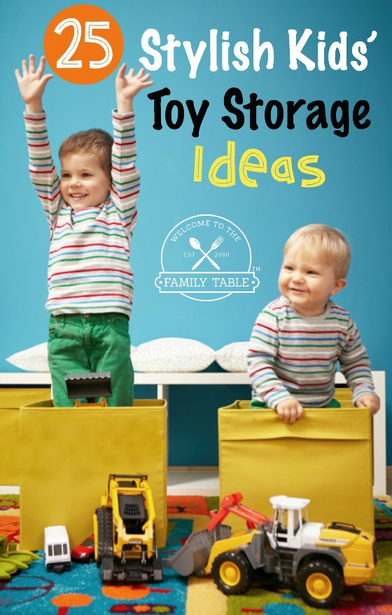 25 Stylish Kidsu0027 Toy Storage Ideas