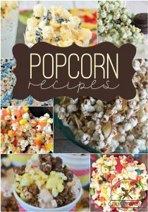 Our family loves trying new fun popcorn recipes! Here are 15 fun popcorn recipes for kids to try during your next family game night! Enjoy!
