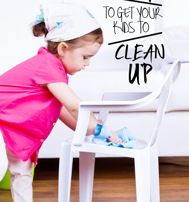 8 Ways to Get Your Kids to Clean Up