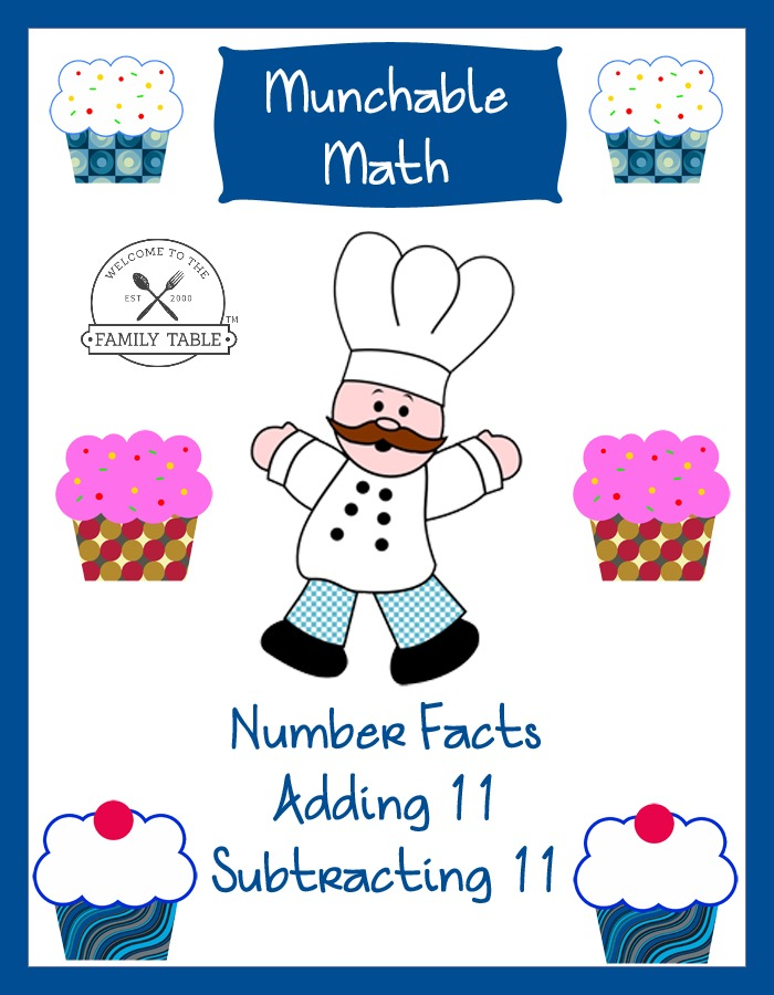 Check out these cute Free Elementary Math Worksheets: Munchable Math-Cupcakes.