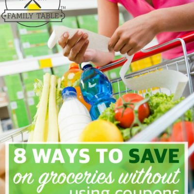 Looking to save money on groceries without using coupons? Here are 8 ways you can do so!
