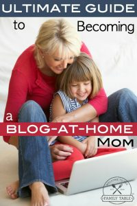 Are you a mom looking for ways to blog from home? If so, here is the ultimate guide to becoming a blog-at-home mom.
