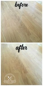 deep cleaning hardwood floors